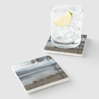 Titisee Lake Germany Marble Coaster Stone Beverage Coaster
