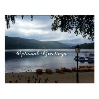 Titisee Lake Germany Postcard