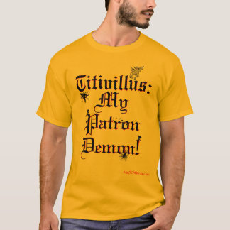 Titivillus: Patron Demon with Ink (Light Shirts) T-Shirt