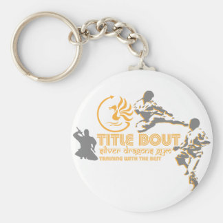 Title Bout Keychain