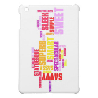 title:Describe yourself With Adjectives - S iPad Mini Cases