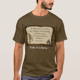 Title of Liber-tee T-Shirt