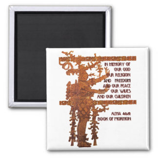 Title of Liberty Book of Mormon Story Magnet