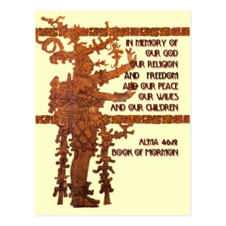 Title of Liberty: Book of Mormon Story Postcard