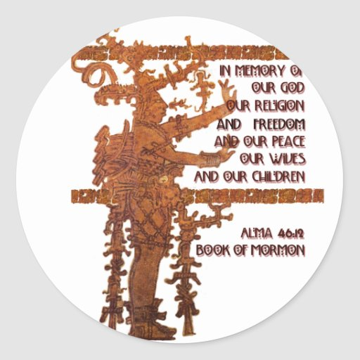 Title of Liberty: Book of Mormon Story Sticker