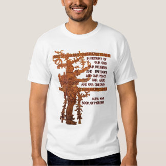 Title of Liberty: Book of Mormon Story T Shirt