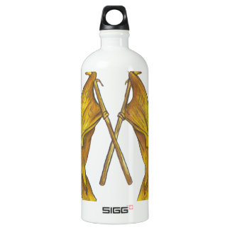 Title of Liberty LDS Flag Aluminum Water Bottle