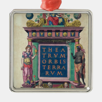 Title page, 3rd edition 'Theatrun Orbis Metal Ornament