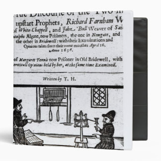 Title Page 'A True Discourse of the Two�' Binder