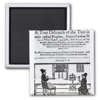 Title Page 'A True Discourse of the Two�' Magnet