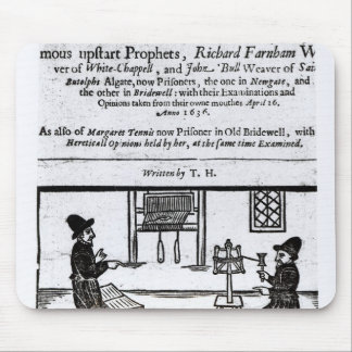 Title Page 'A True Discourse of the Two�' Mouse Pad