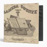 Title Page Alameda County atlas map Binders