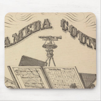 Title Page Alameda County atlas map Mouse Pad