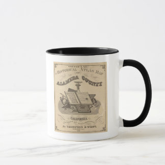 Title Page Alameda County atlas map Mug