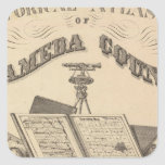 Title Page Alameda County atlas map Sticker