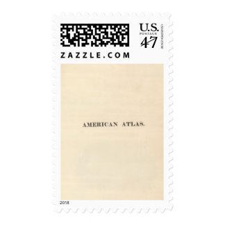 Title Page American Atlas Postage