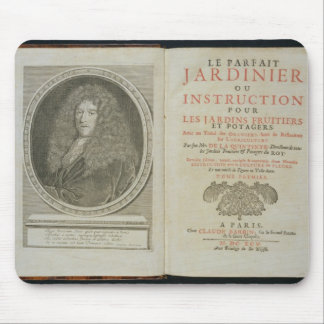 Title page and portrait frontispiece of the author mouse pad