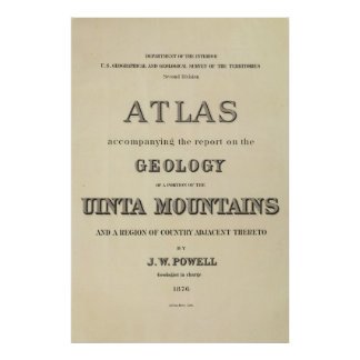 Title Page Atlas accompanying the report Poster