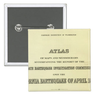 Title Page Atlas California earthquake Buttons