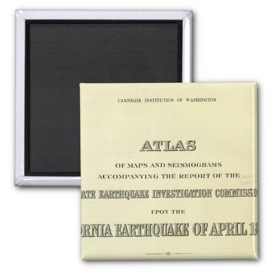 Title Page Atlas California earthquake Magnet