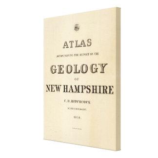 Title Page Atlas Canvas Print