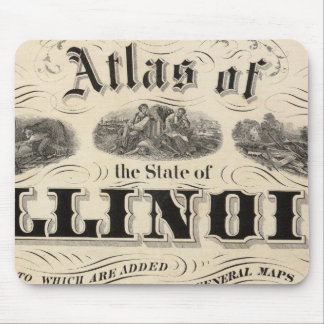 Title Page Atlas of the State of Illinois Mouse Pad