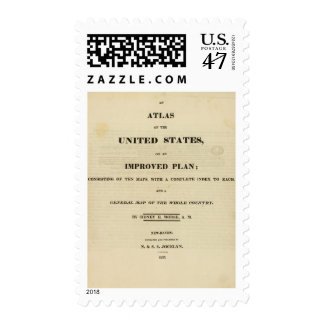 Title Page Atlas of the United States Postage