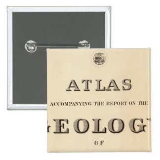 Title Page Atlas Pinback Buttons