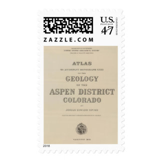Title Page Atlas to the Geology Postage