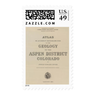 Title Page Atlas to the Geology Stamp