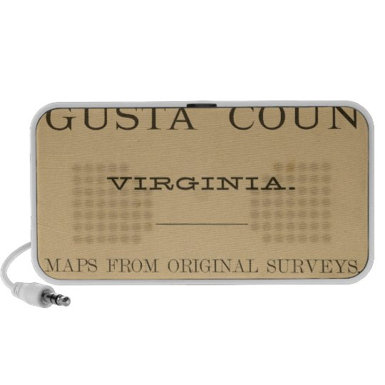 Title Page Augusta County, Virginia Portable Speaker