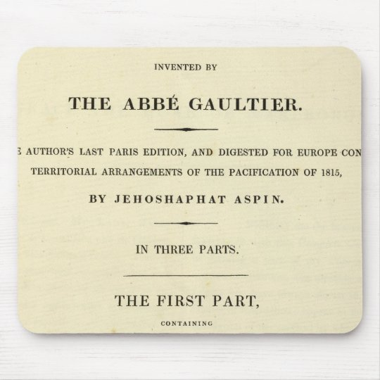 Title Page Complete course of geography Mouse Pad