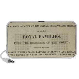 Title Page Complete Genealogical, Historical Mini Speaker