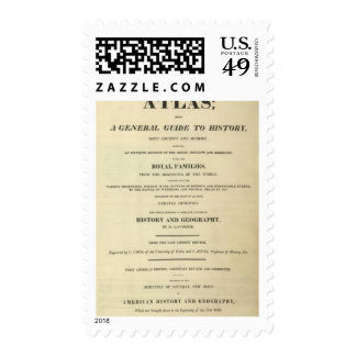 Title Page Complete Genealogical, Historical Postage Stamp