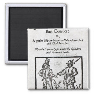 Title page for 'A Quip for an Upstart Courtier' Magnet