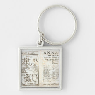 Title page for 'Annalia Dubrensia: Upon the Yeerel Silver-Colored Square Keychain