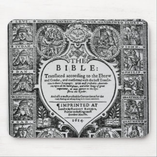Title page for the English translation Mouse Pad