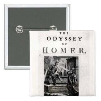 Title page for 'The Odyssey' by Homer Button