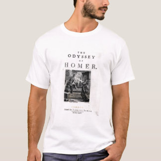 Title page for 'The Odyssey' by Homer T-Shirt