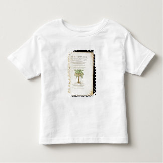 Title page from 'De Historia Stirpium Commentarii Toddler T-shirt