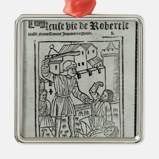 Title page from 'La Terrible et Merveille�' Christmas Ornaments