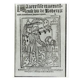 Title page from 'La Terrible et Merveille�' Postcard