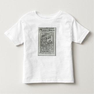 Title page from 'La Terrible et Merveille�' Toddler T-shirt