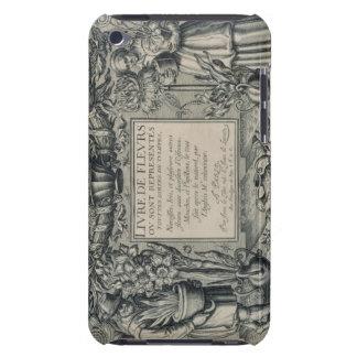 Title page from 'Livre des Fleurs' by Jean Le Cler iPod Touch Case-Mate Case