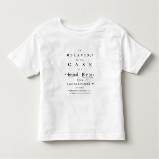 Title page from 'Some Further Particulars Toddler T-shirt