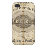Title Page Geographischer Atlas iPhone 4/4S Covers