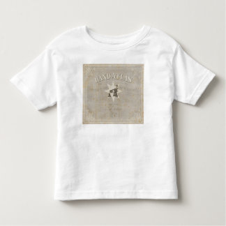 Title Page Hand Atlas of parts of Earth Toddler T-shirt