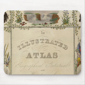 Title Page Illustrated atlas of the United States Mouse Pad