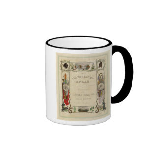Title Page Illustrated atlas of the United States Ringer Mug
