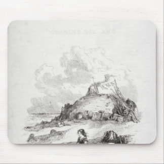 Title page illustration from 'David Mousepads